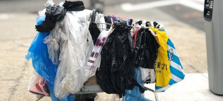 Disposing of unnecessary belongings
