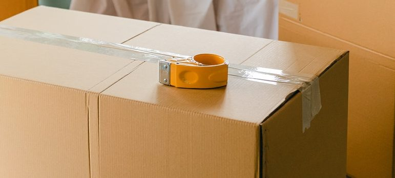 Packing tape is on the list of packing supplies